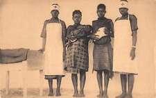 Pawa Papaye Croix Rouge Red Cross Nuns Nurses Maternity Ward Postcard J64642