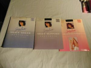 Lot Of 3 Jaclyn Smith Plus Size D Panyhoses 2 Off Black 1 Lace Color Ebay