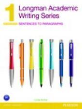 Sentences to Paragraphs by Linda Butler (2013, Paperback)