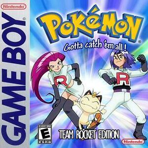 Pokemon Team Rocket Version Nintendo Gameboy Like Red Blue Yellow Fan Made Ebay