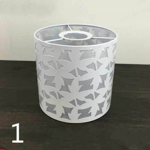Metal Flowers Light Shade Lampshade Lamp Cover Table Ceiling Pendant White Pink