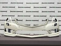 MERCEDES E CLASS AMG W207 CABRIO 2009-2012 FRONT BUMPER IN WHITE GENUINE [E105]