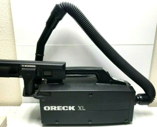 Oreck XL Compact Canister Hand Held Vacuum with Attachments Black, Japan