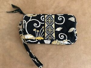 Vera-Bradley-Yellow-Bird-purse-accessory-wristlet-wallet-vintage-4-x-6-034-bag