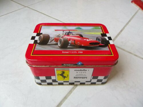 Ferrari V12 F1 1968 #26 Boite only box Solido 1//43