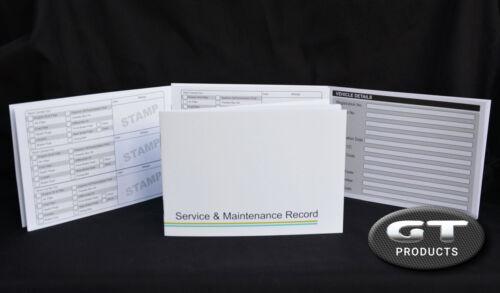 JAGUAR SERVICE HISTORY BOOK /& MAINTENANCE RECORD LOG