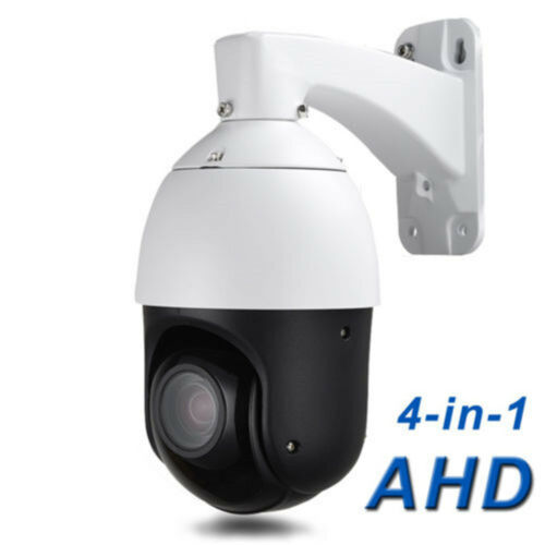 Outdoor 2.0MP Security AHD 1080P Speed Dome 4in1 PTZ Camera HD Analog 30X ZOOM