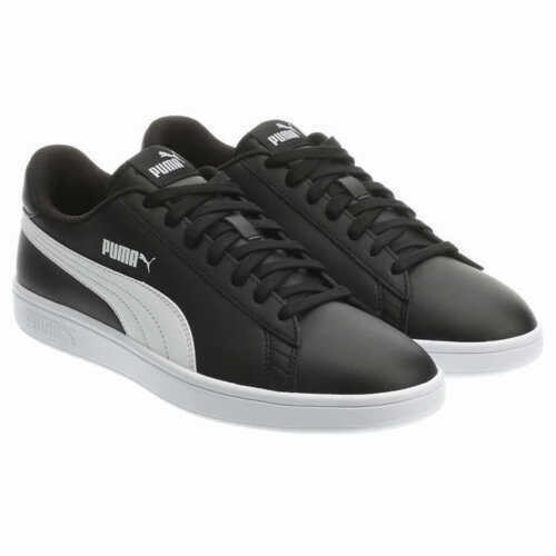 Puma Smash V2 Men Sneakers Casual Lace Up Leather Comfort Basics
