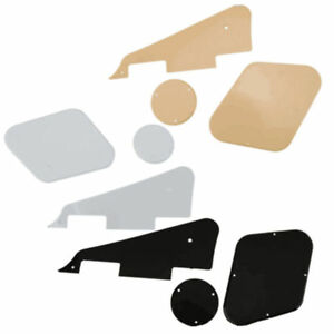 Plastic-Pickguard-Scratch-Plate-Cavity-Switch-Cover-Set-for-Les-Paul-LP-Guitar