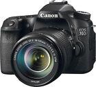 Canon  EOS 70D 20.2 MP Digital SLR Camera with EF-S IS STM 18-135mm Lens - Black