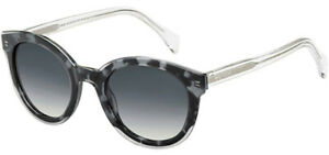 Tommy-Hilfiger-Women-039-s-Vintage-Style-Round-Sunglasses-TH1437S-0LLW-9O