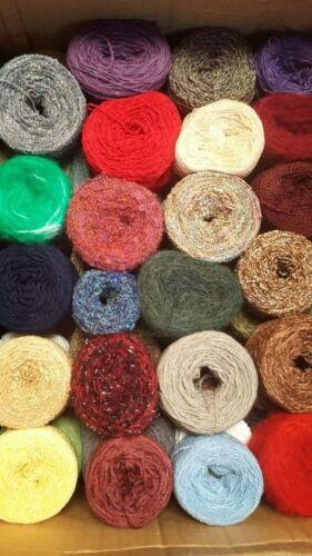 Filati torte assortiti ricalca le Texture Lana Uncinetto Lavoro a Maglia 1kg giocattolo rendendo Artigianato