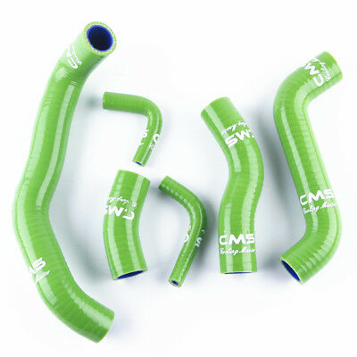 Green Silicone Radiator Hose Kit for Kawasaki ZRX1200R 2001-2008 2005 2006 2007