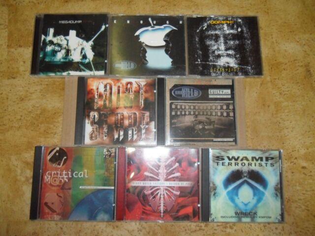CD Sammlung EBM Electro Music Sampler Oomph Gravity Kills Idiot Stare