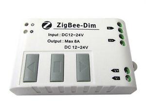WiFi-Zigbee-Slave-Led-Regulador-de-intensidad-Para-Tira-De-Led-Mono-Color-12V