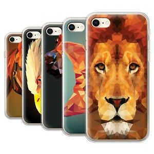 Gel-TPU-Case-for-Apple-iPhone-8-Geometric-Animal-Wildlife