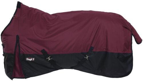 "Sizes 69/""to 84/""-250 Gram Winter Horse Waterproof Turnout Blanket-600D-BURGUNDY"