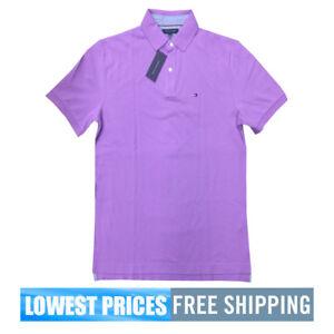 d8ad202fa Tommy Hilfiger NWT Men's Classic Fit Lavender / Purple Basic SP Polo ...
