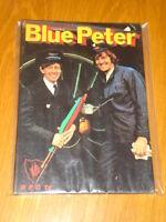 BLUE PETER EIGHTH BOOK BRITISH ANNUAL 1971 FN+