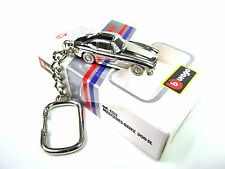 Burago Mercedes-benz 300 S Extremely rare Collectible chrome Plated Keyring 1:87