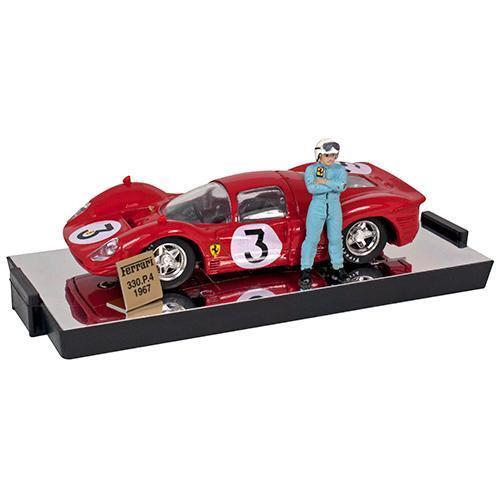 Vous ne pouvez pas acheter un téléphone portable  et vous n'avez pas de rabais. BRUMM 1/43 1967 Ferrari 330 P4 #3 Monza | De Haute Qualité