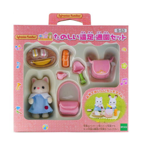Sylvanian Families Calico Critters Baby Picnic Set
