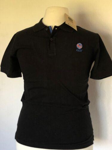 schwarz Gr.: S PADI Polo Shirt Corporate für Taucher // Diver Men