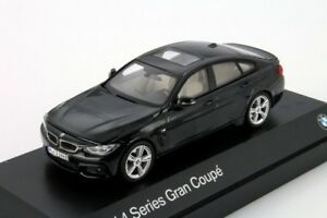 BMW serie 4 Gran Coupe Negro, Distribuidor Oficial Modelo de escala 1:43, Auto Nuevo Regalo
