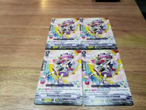 Dreaming King of Comedy x 4 promo cardfight vanguard english
