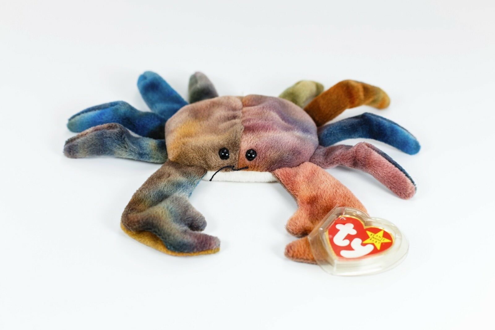 TY Beanie Baby CLAUDE The Crab b08a64bccc2b