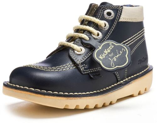 EU 25 NAVY Kickers for Joules Special Edition Kick Hi  Boots size 8 UK