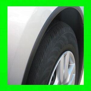 Mazda-Fibra-de-Carbono-Rueda-Bien-Fender-Trim-Moldeador-4PC-con-5YR-Garantia