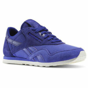 Reebok Classic CL Nylon Slim Candy Girl Sizes 4-7.5 Purple RRP £60 BNIB AQ9862