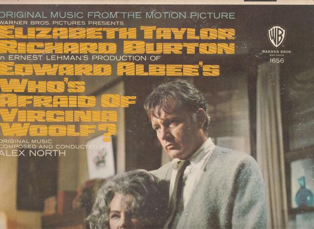 Who's Afraid of Virginia Woolf-1966-Original Movie Soundtrack- Record LP