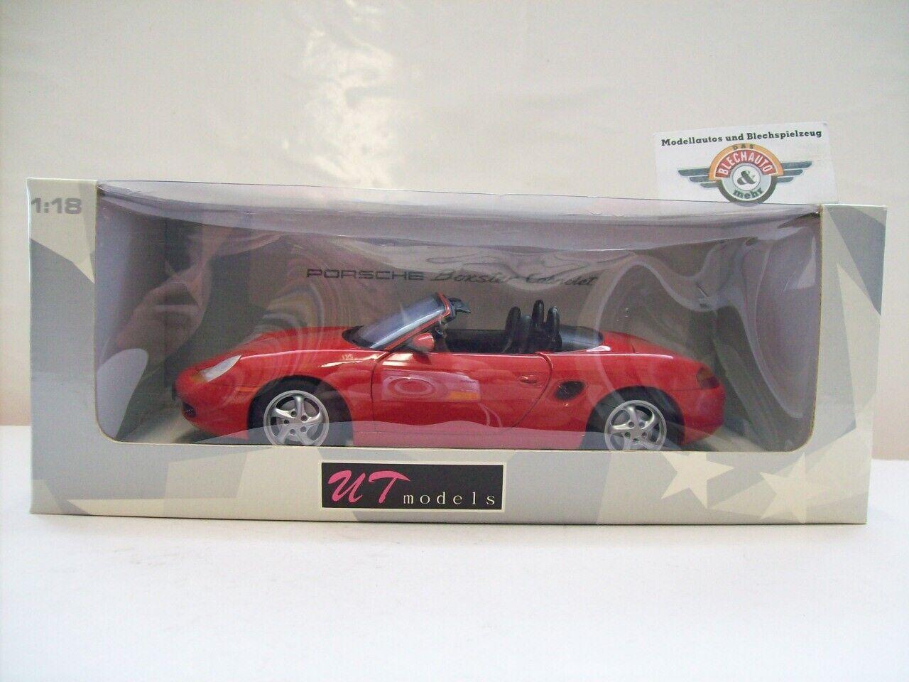 Porsche Boxster (986) Roadster, 1996, rot, UT-Models (Minichamps) 1 18, OVP