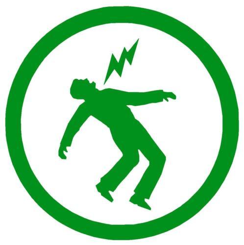 Green Day Symbol Decal Cut Vinyl Bumper or Window Sticker Warning