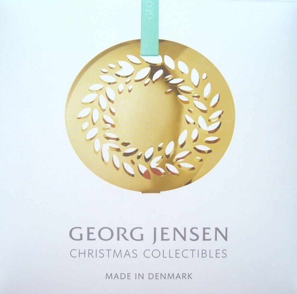 Georg Jensen Weihnachtsmobile 2016 - Magnolienkranz - Mobile verGoldet - - - NEU OVP 019f6d