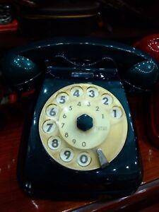 PASSIONE-VINTAGE-TELEFONO-A-DISCO-VERDE-SCURO