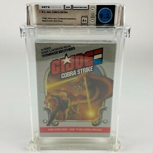 G.I. Joe Cobra Strike - Atari 2600 Red Stripe Graded Sealed 1983 WATA 9.2 A+