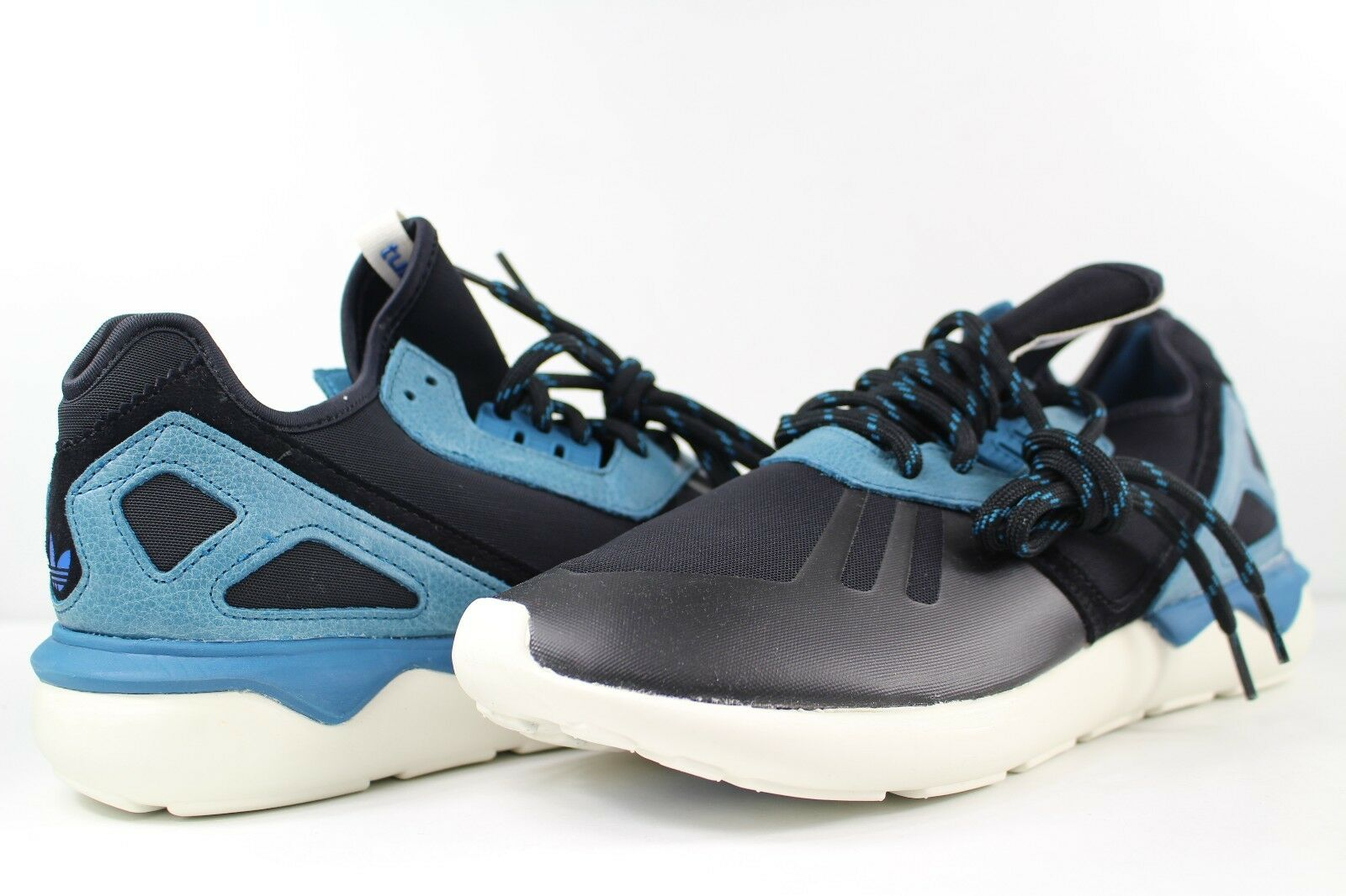 Adidas Surf Tubular Runner Core Black Surf Adidas Petrol Blue White Size 10.5 8104c0