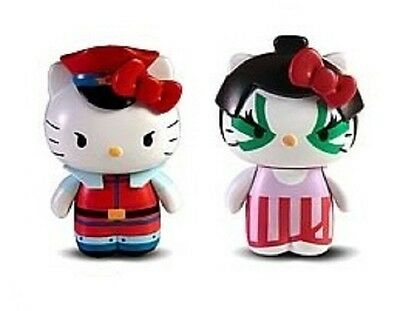 Keychain Figure Bison Hello Kitty Ver Sanrio X Street Fighter M