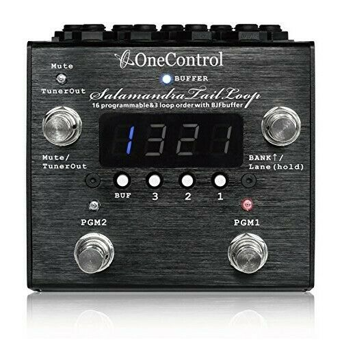 One Control One Control Effector 3 Loop Switcher Salamandra Tail Loop