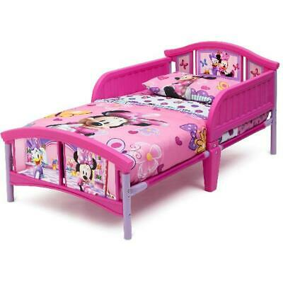 Disney Minnie Mouse Plastic Toddler Bed Delta Girls Kids ...