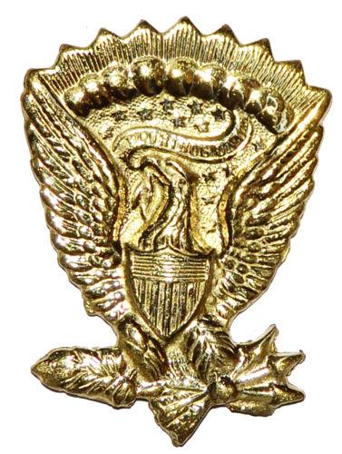 American Civil War ACW Replica Full Size Metal Infantry Hardee Hat Eagle Badge