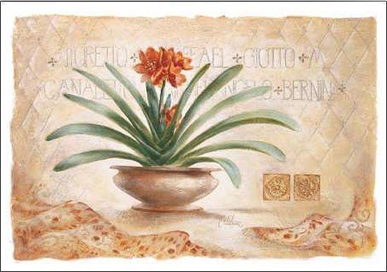 Claudia Ancilotti  Giotto barella-immagine Schermo NATURA MORTA Moderno Floreale
