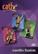 CATHE FRIEDRICH CARDIO FUSION STEP EXERCISE DVD NEW SEALED WORKOUT FITNESS