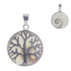 Lebensbaum-Shiva-Auge-Anhaenger-Silber-Gothic-Schmuck-NEU