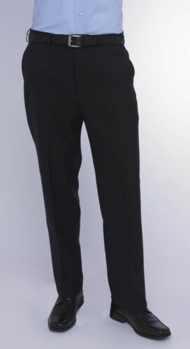 IN NAVY IN WAIST 32 TO 50 L36 SKOPES EXTRA TALL WOOL BLEND TROUSER TITAN