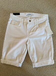 91781687d4 Image is loading NWT-J-Brand-BEAU-Mid-Rise-Bermuda-Short-