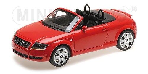 Audi tt roadster 1998 rot 1,18 modell minichamps